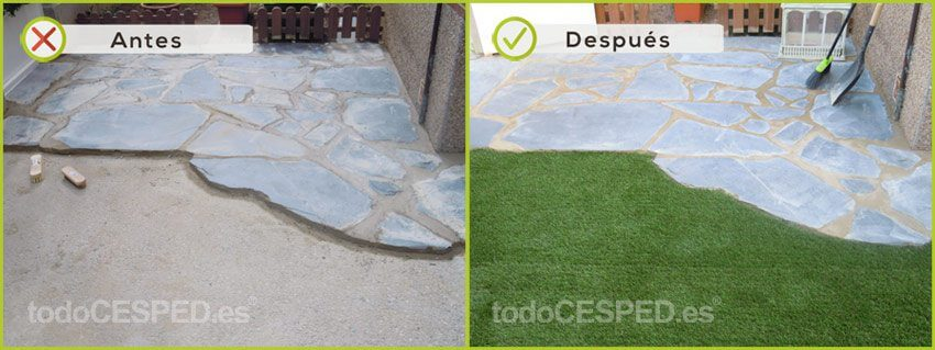 Césped Artificial decoración